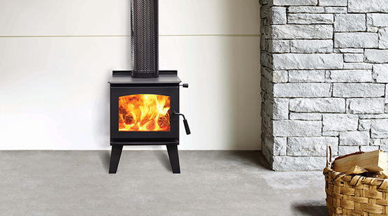Types of Wood Heaters Free Standing Radiant Heater